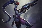 Обои Widowmaker / Роковая Вдова из игры Overwatch / Дозор, by SYAR