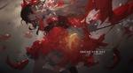 Обои Hakurei Reimu / Рейму Хакурей из игры Touhou Project / Проект Восток (BRIGHT NEW DAY / ЯРКИЙ НОВЫЙ ДЕНЬ), by M4 Miv4t
