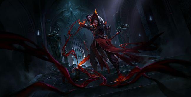 Мужчина-демон из игры Honor of Kings / Честь Королей, by Brasenia 1