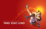 Обои Yang Xiao Long / Янь Сяо Лун из аниме RWBY / Красный, Белый, Черный, Желтый, by AssassinWarrior
