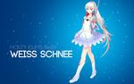 Обои Weiss Schnee / Вайсс Шни из аниме RWBY / Красный, Белый, Черный, Желтый, by AssassinWarrior