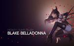 Обои Blake Belladonna / Блейк Белладонна из аниме RWBY / Красный, Белый, Черный, Желтый, by AssassinWarrior