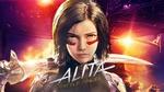 Обои Alita / Алита из фильма Alita: Battle Angel / Алита: Боевой ангел