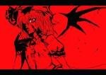 Обои Вампирша Remilia Scarlet / Ремилия Скарлет из игры Проект Восток / Touhou Project