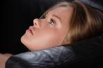 Обои Портрет модели Anika A в профиль