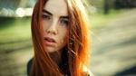 Обои Рыжеволосая девушка, фотограф Anton Filippov