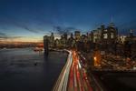 Обои Вид на ночной New York, United States / Нью-Йорк, США, by Eric Snyder