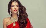 Обои Девушка в индийском наряде. Фотограф София Журавец