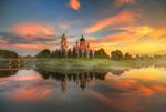Обои Июньский закат в Старой Руссе, by Ed Gordeev