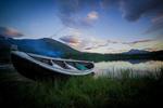 Обои Лодка у берега, фотограф Vivian Ebeltoft
