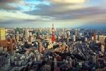 Обои Токийская телебашня, вид на город сверху, Токио / Tokyo, Япония / Japan