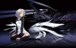 Обои Белокурая девушка с крыльями, by redjuice999