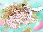 Обои Kirito / Кирито и Asuna / Асуна арт персонажей из аниме Sword Art Online / Мастера Меча Онлайн