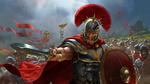 Обои Центурион, призывающий к атаке римских легионеров, by Justcg Chen