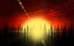 Обои Красочный закат солнца, by DarkMesah