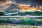 Обои Волны океана у берега, by enriquelopezgarre