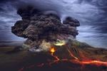 Обои Извержение вулкана, by enriquelopezgarre