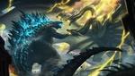 Обои Битва монстров, постер к фильму Godzilla: King of the Monsters / Годзилла 2: Король монстров, by Cloud _D