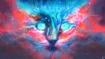 Обои Космическая кошка, by JoeyJazz