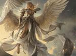 Обои Девушка - ангел с мечом, by Martina Faсkovа