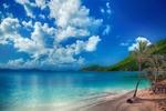 Обои Тропический пляж, by enriquelopezgarre