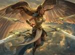 Обои Sephara, Skys Blade / Сефара, небесный клинок, by Livia Prima