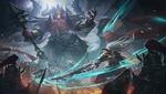 Обои Битва воинов с демоном, by Cloud _D