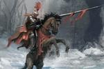 Обои Рыцарь с копьем на коне, вставшим на дыбы, by RaymondMinnaar