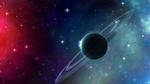 Обои Планета в красно-голубой туманности, by Vaporeon249
