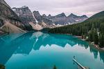 Обои Moraine Lake - Alberta, Canada / озеро Морейн - Альберта, Канада, by Giuseppe Milo