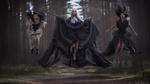 Обои Три ведьмочки, застывшие в прыжке, фотограф Александр
