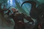 Обои Gerald / Геральд из игры Witcher 3 / Ведьмак 3, by Ge L