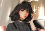 Обои D. VA / Ханна Сон из игры Overwatch / Дозор, by gynryo