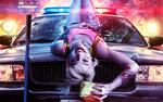 Обои Австралийская актриса Margot Robbie / Марго Робби в роли Harley Quinn / Харли Квинн из фильма Birds Of Prey / Хищные птицы 2020, by Aini Sadratdin