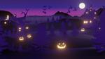 Обои Светильники Джека, Halloween, by Collins Kassamani