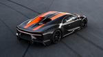 Обои Черный с оранжевыми полосами Bugatti Chiron 300MPH 2019
