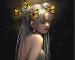 Обои Usagi Tsukino / Усаги Цукино / Сейлор Мун / Seilor Moon из аниме Bishoujo Senshi Sailor Moon / Красавица-воин Сейлор Мун, by Nishi hiku