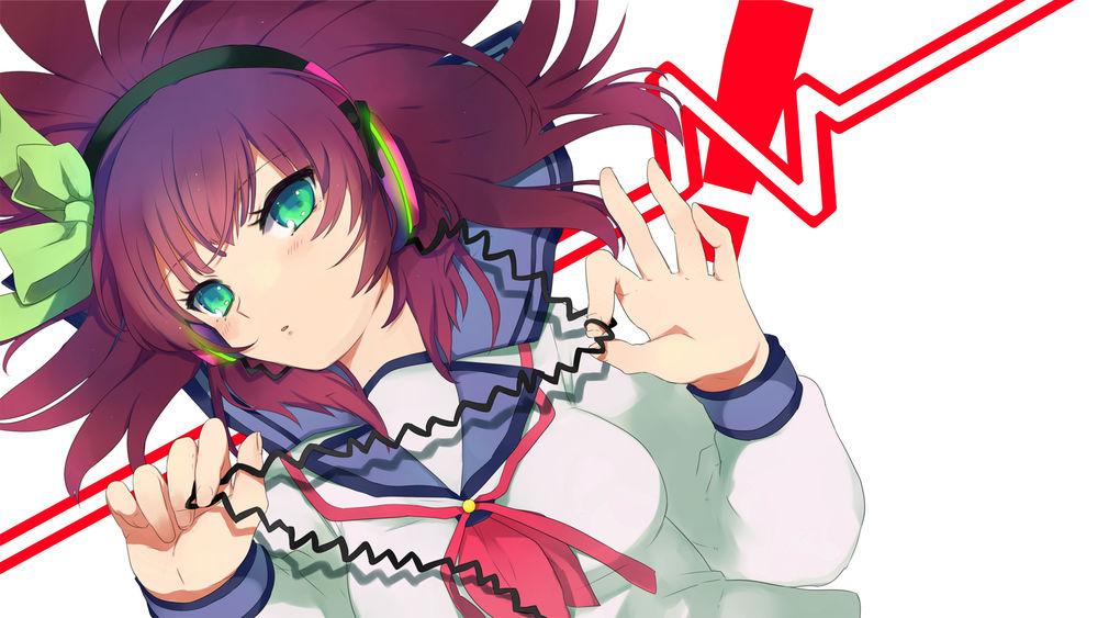 Обои для рабочего стола Yuri Nakamura / Юри Накамура из аниме Angel Beats!/Ангельские ритмы, by ElSobreviviente