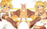 Обои Vocaloid Len / Вокалоид Лен и Rin Kagamine / Рин Кагамине, by My-Magic-Dream, by Kiekyun