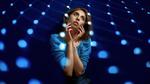 Обои Модель Анастасия в голубом платье, by Andrey Metelkov