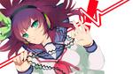Обои Yuri Nakamura / Юри Накамура из аниме Angel Beats!/Ангельские ритмы, by ElSobreviviente