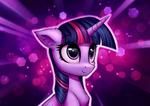 Обои Twilight Sparkle / Сумеречная Искорка из мультсериала My Little Pony: Friendship is Magic / MLP:FiM / Мой маленький пони: Дружба – это чудо, by ConnieTheCasanova
