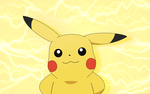 Обои Pikachu / Пикачу из аниме Pokemon / Покемон, by TheEmerald
