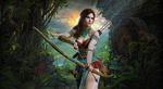 Обои Lara Croft / Лара Крофт из игры Tomb Raider / Расхитительница гробниц, by konradM96