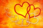 Обои Сердечки на желтом фоне. by Gerhard Gellinger