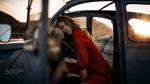 Обои Девушка Катерина сидит в авто, by Nicola Davide Furnari
