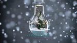 Обои Наряженная елка в лампочке (Merry Christmas / Счастливого Рождества), by Abhishek Singh