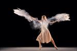 Обои Девушка в танце, by Georg Scharf