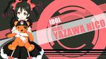 Обои Niko Yazawa / Нико Язава из аниме Love Live! School Idol Project / Живая любовь! Проект «Школьный идол», by FiRaFi