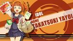 Обои Yayoi Takatsuki / Яей Такацуки из аниме The iDOLM@STER / Идолмастер, by FiRaFi
